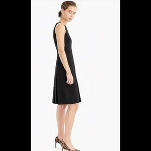 NWT J. Crew Sleeveless Black 👗 Dress. Size: 8T